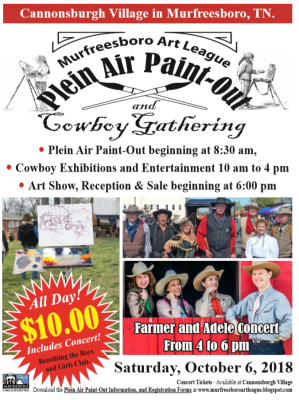 MAL Plein Air Paint out and Cowboy Gathering